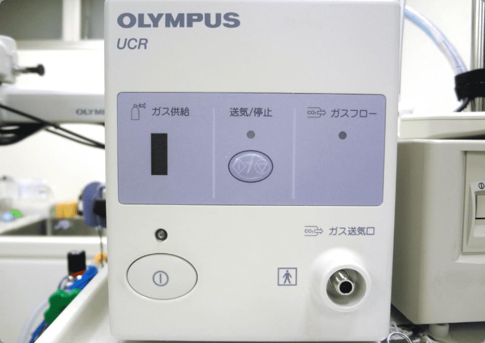 お腹の張りを軽減する「炭酸ガス送気システム」の導入