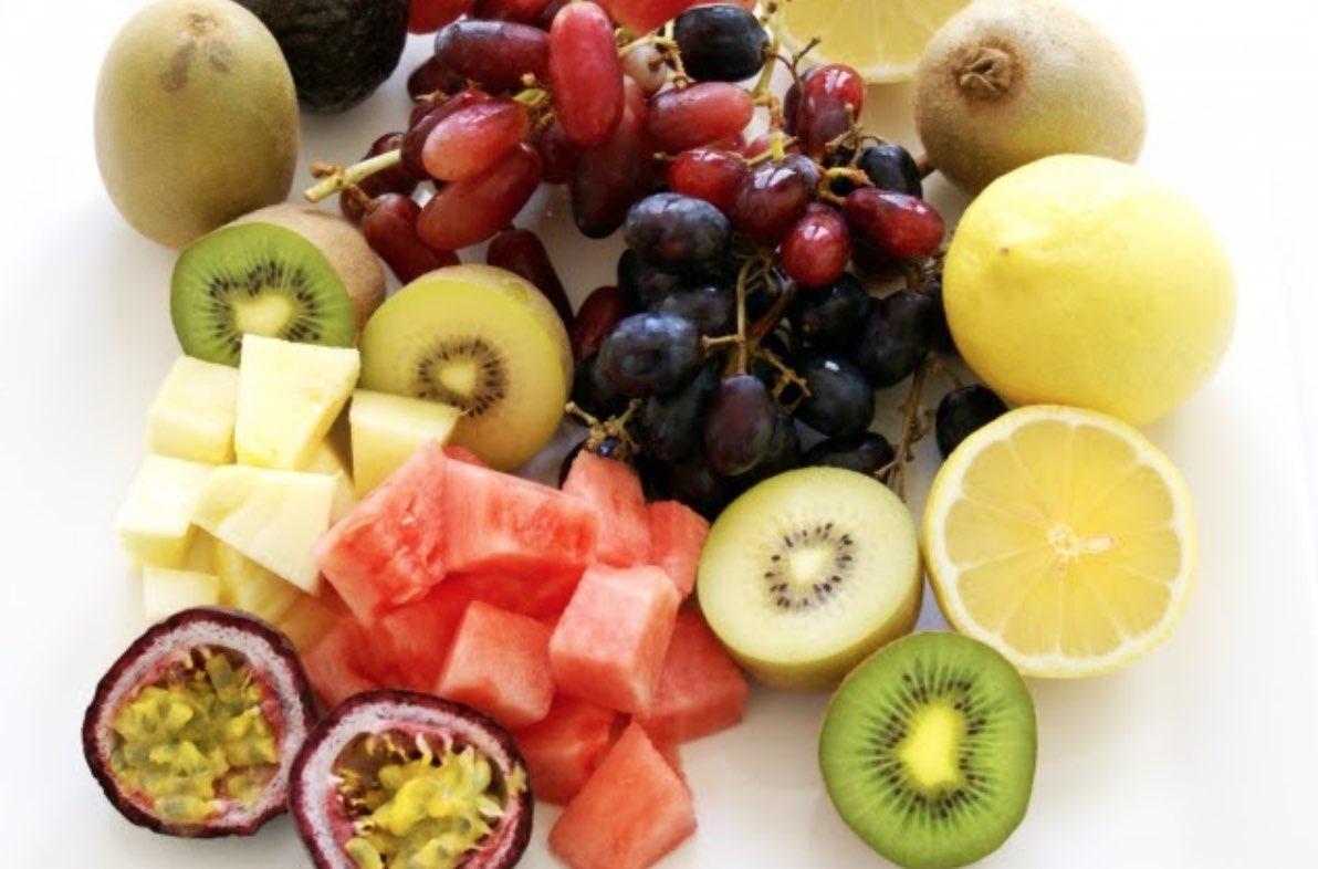 たくさんの果物